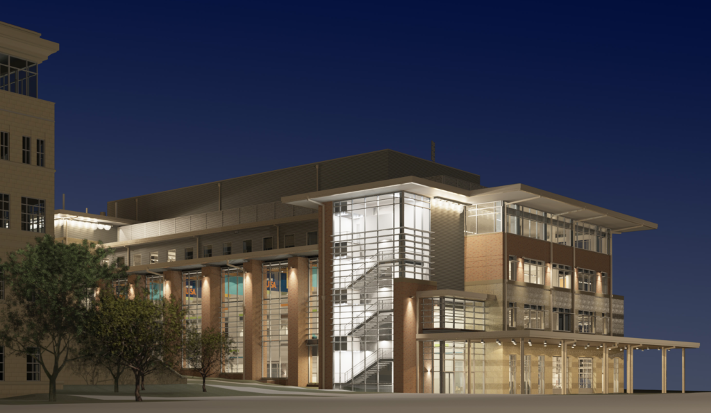 Rendering of Science and Engineering Building
